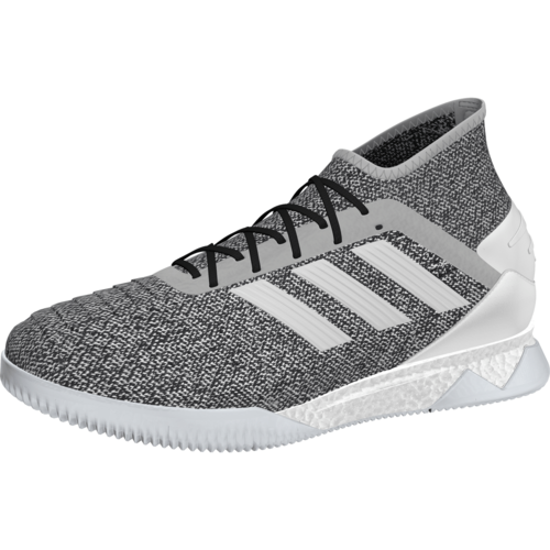 d12a0c8766b adidas Predator 19.1 Trainers - Grey/White/Blue