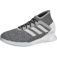 453c6bc501b1 adidas Predator 19.1 Trainers - Grey White Blue