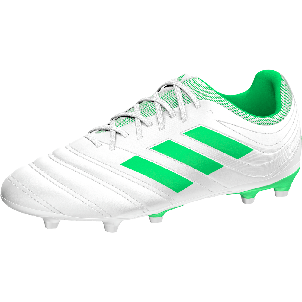 30f9779de adidas Copa 19.3 Firm Ground Boots JR - White Green