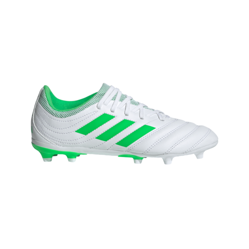 adidas Copa 19.3 Firm Ground Boots JR - White/Green