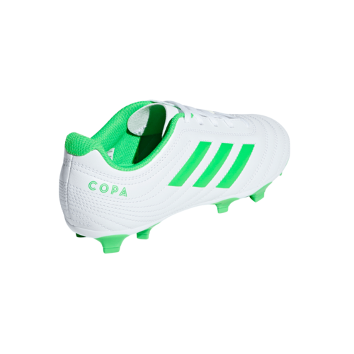 adidas COPA 19.4 Firm Ground Boot JR - White/Green