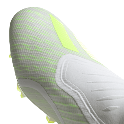 adidas X 18+ Firm Ground Boots -White/Yellow