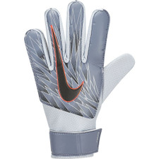 Nike Jr. Match Goalkeeper Kids' Soccer Gloves - Blue/Silver/Black