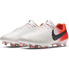 Nike Legend 7 Elite Firm Ground Boot - White/Black/Red