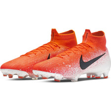 Nike Superfly 6 Elite Firm Ground Boots - Red/Black/White
