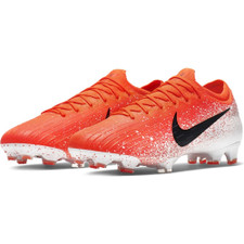 Nike Vapor 12 Elite Firm Ground Boots - Red/Black/White