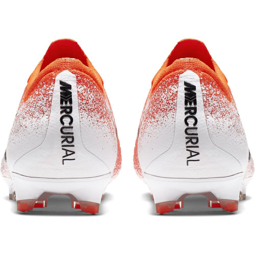 Nike Vapor 12 Elite Firm Ground Boots - Red/Black/White