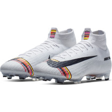 Nike CR7 Superfly 360 Elite Firm Ground Boots - Platinum/White/Black