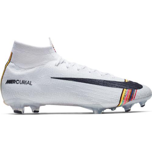 Nike CR7 Superfly 360 Elite Firm Ground Boots - Platinum/White/Black