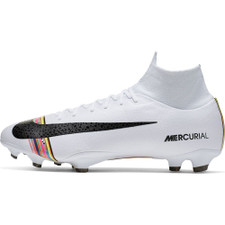 best service c5b30 f70a9 Nike CR7 Superfly 6 Pro Firm Ground Boots - Platinum/White/Black