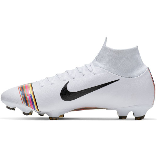 Nike CR7 Superfly 6 Pro Firm Ground Boots - Platinum/White/Black