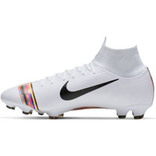 best service 42f6d c6a33 Nike CR7 Superfly 6 Pro Firm Ground Boots - Platinum/White/Black