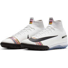 Nike CR7 SuperfluX 6 Elite Artificial Turf Boots - Platinum/White/Black