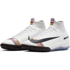 Nike CR7 SuperfluX 6 Elite Artificial Turf Boots - Platinum/White/Black