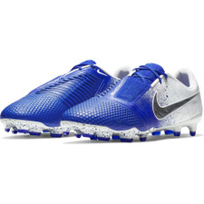Nike Phantom Venom Elite Firm Ground Boot - White/Black/Blue