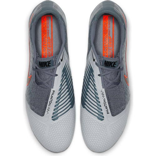 Nike Phantom Venom Elite Firm Ground Boots - Grey/Black/Blue