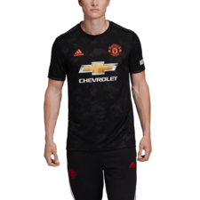 adidas 18/19 Manchester United Third Jersey - Black