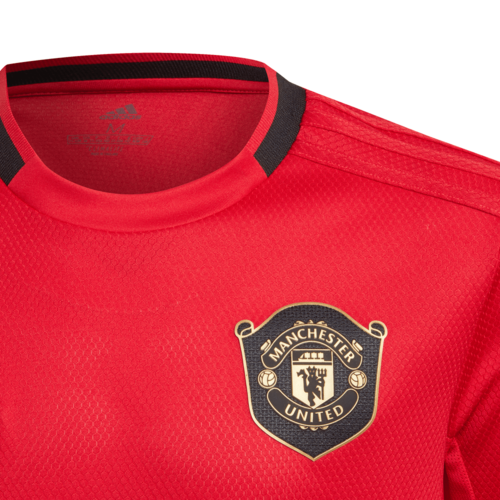 adidas Manchester United Home Jersey 19/20 Youth - Red