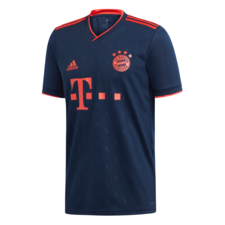 adidas 19/20 FC Bayern 3rd Jersey - Navy/Red