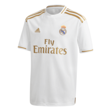 adidas 19/20 Real Madrid Home Jersey Youth - White