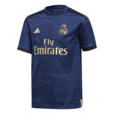 adidas 19/20 Real Madrid Away Jersey Youth - Indigo