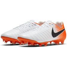 Nike Legend 7 Pro Firm Ground Boots - White/Black/Red