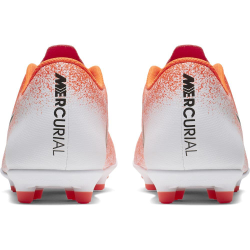 Nike Vapor 12 Club Firm Ground Boots - Red/Black/White