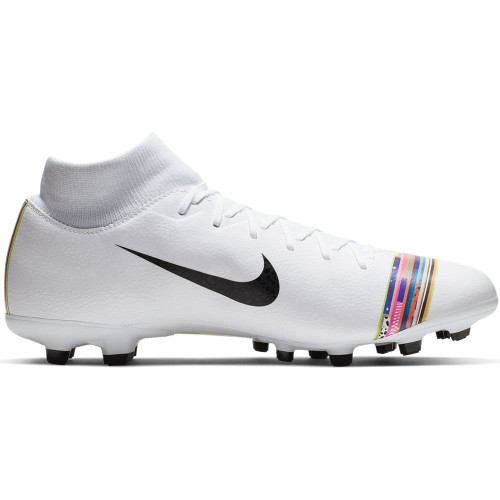 Nike CR7 Superfly Academy Firm Ground Boots - White/Black/Platinum