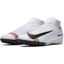Nike CR7 SuperflyX 6 Academy Artificial Turf Boots - White/Black/Platinum