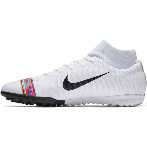 28c6229acf6 ... Nike CR7 SuperflyX 6 Academy Artificial Turf Boots - White Black  Platinum ...