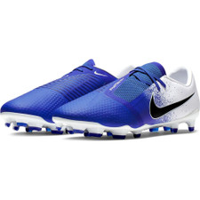Nike Phantom Venom Pro Firm Ground Boots - White/Black/Blue