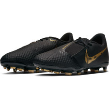 Nike Jr. Phantom Venom Academy Firm Ground Boots - Black/Gold