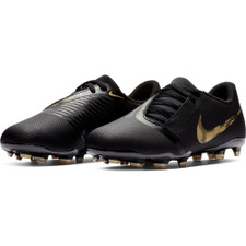 Nike Jr. Phantm Venom Club Firm Ground Boots -Black/Gold