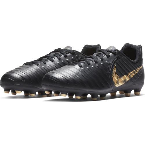 Nike Jr. Legend 7 Club Firm Ground Boots - Black/Gold