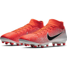 Nike Superfly 6 Academy Firm Ground Boots - Red/Black/White