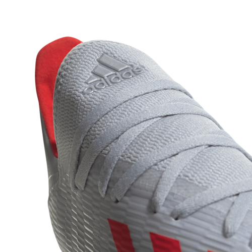 adidas X 19.3 Firm Ground Boots - Silver/Red/White