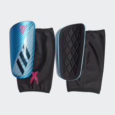 adidas X Pro Shinguard - Blue/Black/Pink