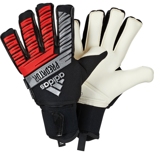 adidas Predator Ultimate Gloves - Black/Silver/Red