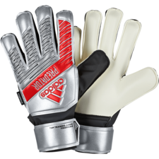 adidas Jr Predator Top Training Fingersave Gloves - Silver/Black
