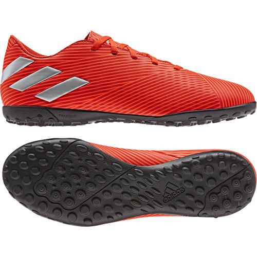 adidas Nemeziz 19.4 Turf Boots - Red/Silver