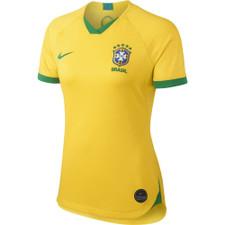 Nike Women's Brasil CBF Stadium 2019 - Gold/Green