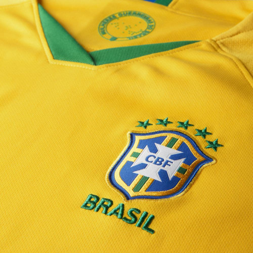 Nike Women's Brasil CBF Stadium 2019 - Gold/Green