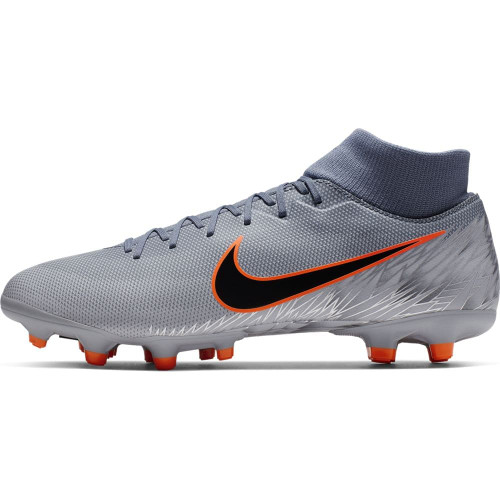 8591585ee4a6 Nike Superfly 6 Academy Firm Ground Boots - Blue/Black/Grey | SOCCERX