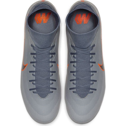 Nike Superfly 6 Academy Firm Ground Boots - Blue/Black/Grey