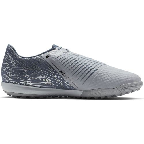 Nike Phantom Venom Academy Artificial Turf Boots - Grey/Black/Blue