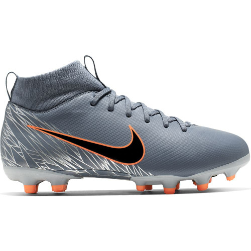 Nike Jr. Superfly 6 Academy Firm Ground Boots - Blue/Black/Grey