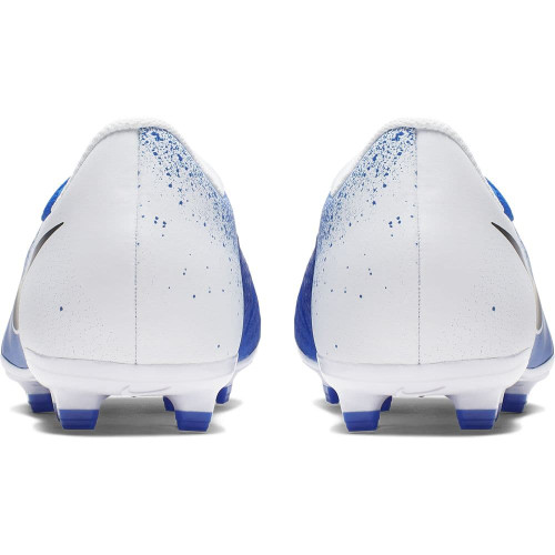Nike Jr Phantom Venom Academy Firm Ground Boots - White/Black/Blue
