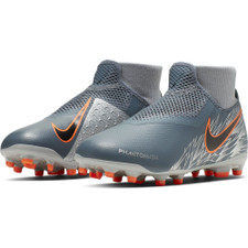 Nike Jr. Phantom Vision Academy Dynamic Fit Firm Ground Boots - Blue/Black/Red