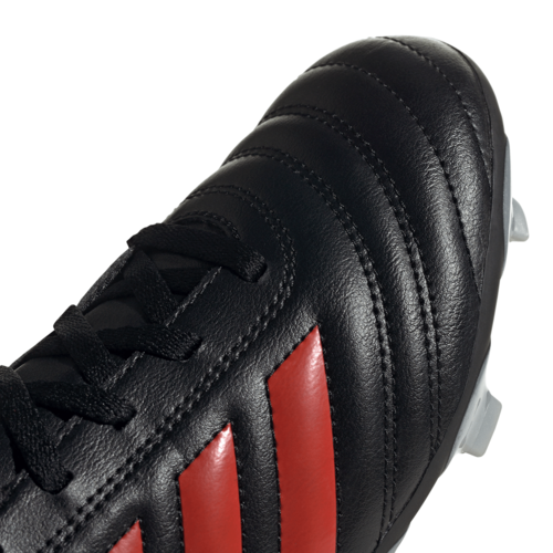 adidas Jr Copa 19.4 Firm Ground Boots - Black/Red/Silver