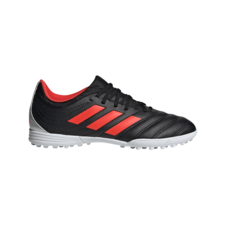 47cb095f7 adidas Jr Copa 19.3 Turf Boots - Black/Red/Silver